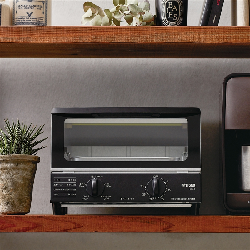 TIGER(タイガー)オーブントースター <やきたて> KAK-G100Kの商品画像3