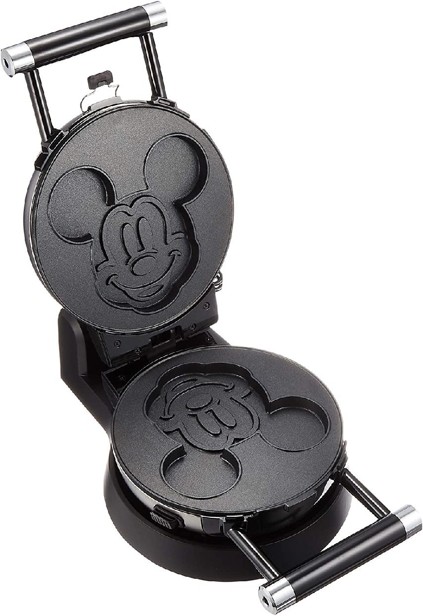 DOSHISHA(ドウシシャ)ワッフルメーカー ミッキーマウス シルバー WAFU-100SIの商品画像2