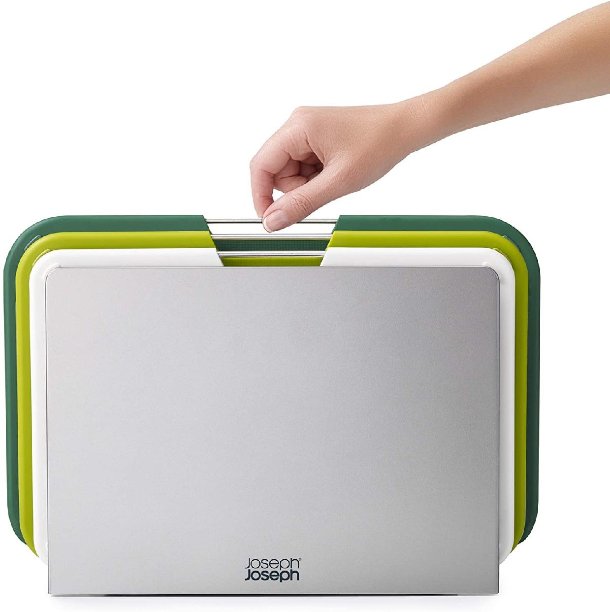 Joseph Joseph(ジョセフジョセフ) ネストボード まな板セット グリーンの商品画像2