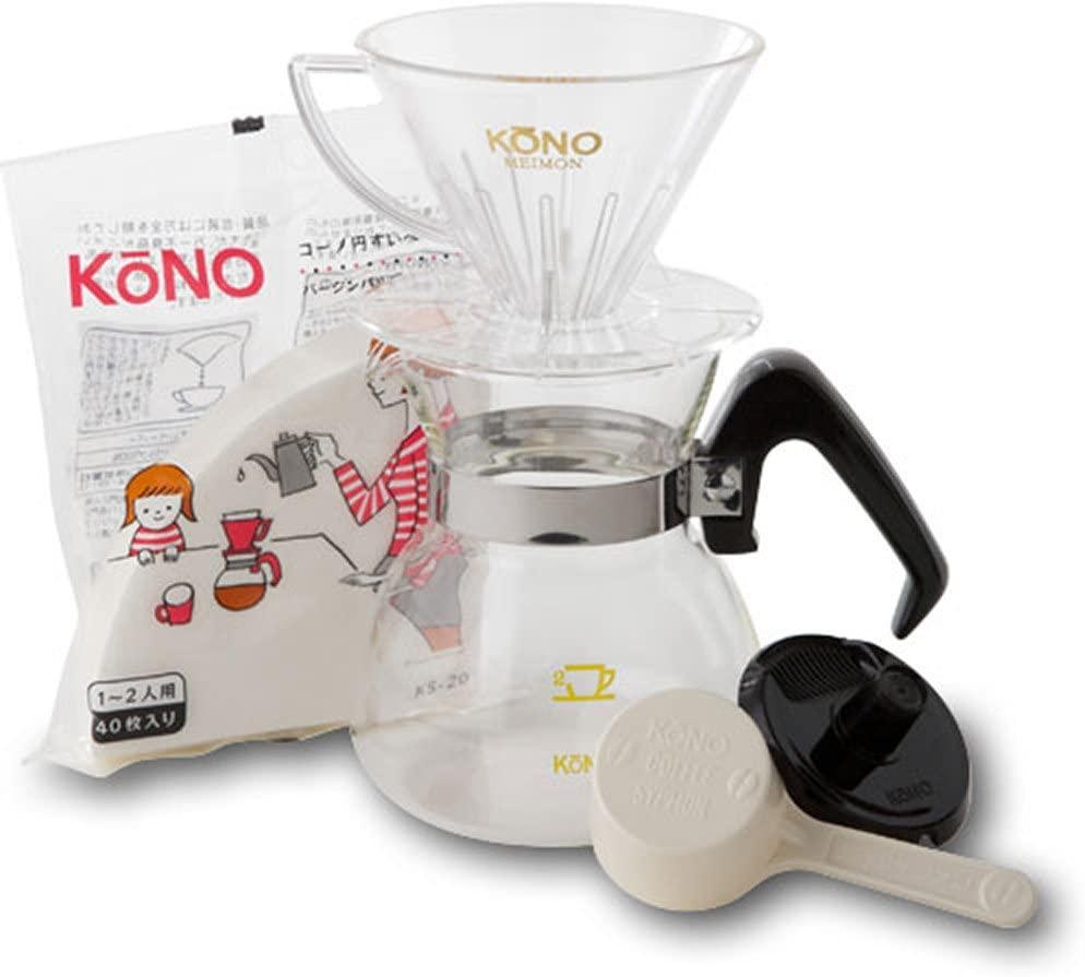 KONO(コーノ) 名門2人用ドリッパーセット MDN-20の商品画像