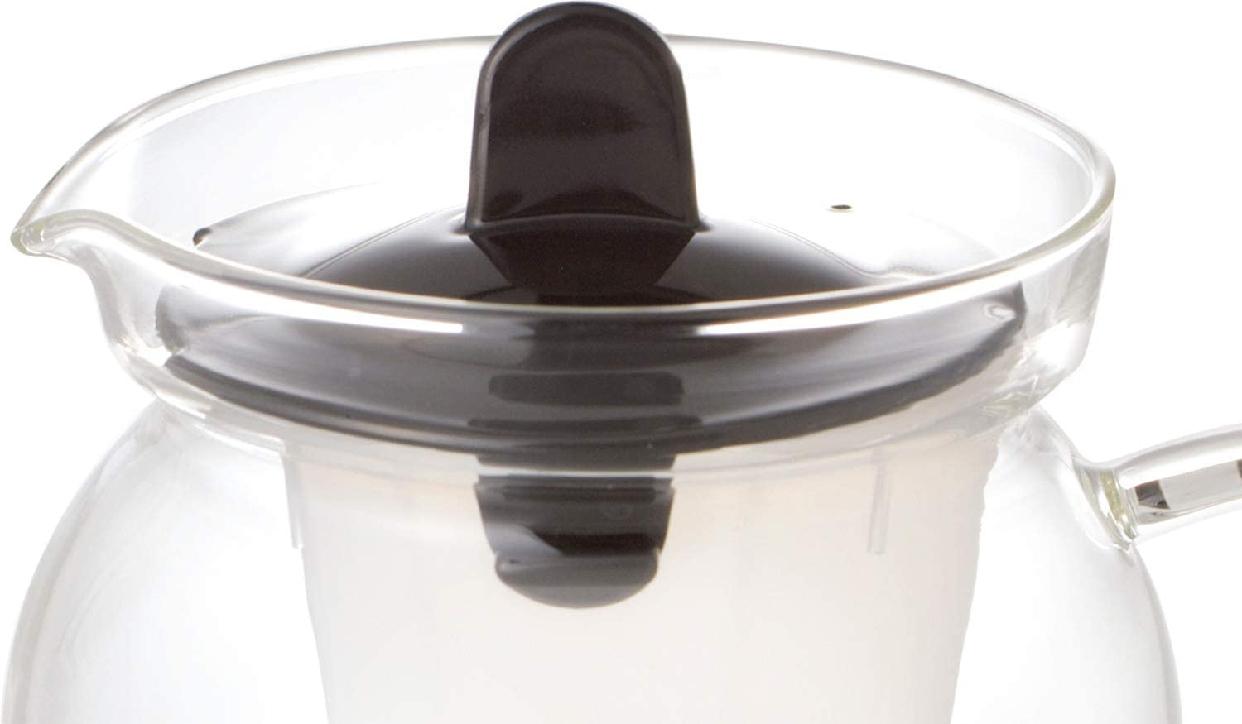 iwaki(イワキ) お茶ポット 480ml ブラック K853T-BKの商品画像6