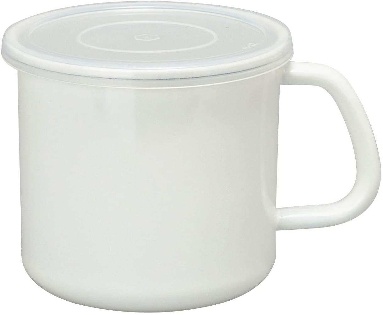 White Series(ホワイトシリーズ) 持ち手付ストッカー丸型
