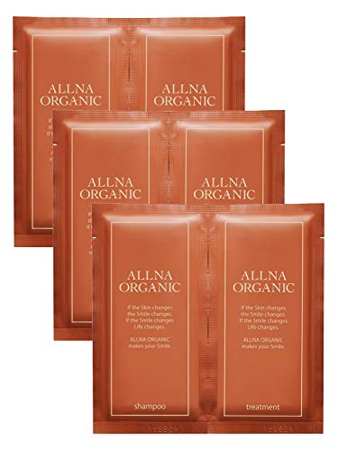 ALLNA ORGANIC(オルナ オーガニック) 無添加ノンシリコンシャンプー& 洗い流すトリートメント 3日間トライアルセットの商品画像