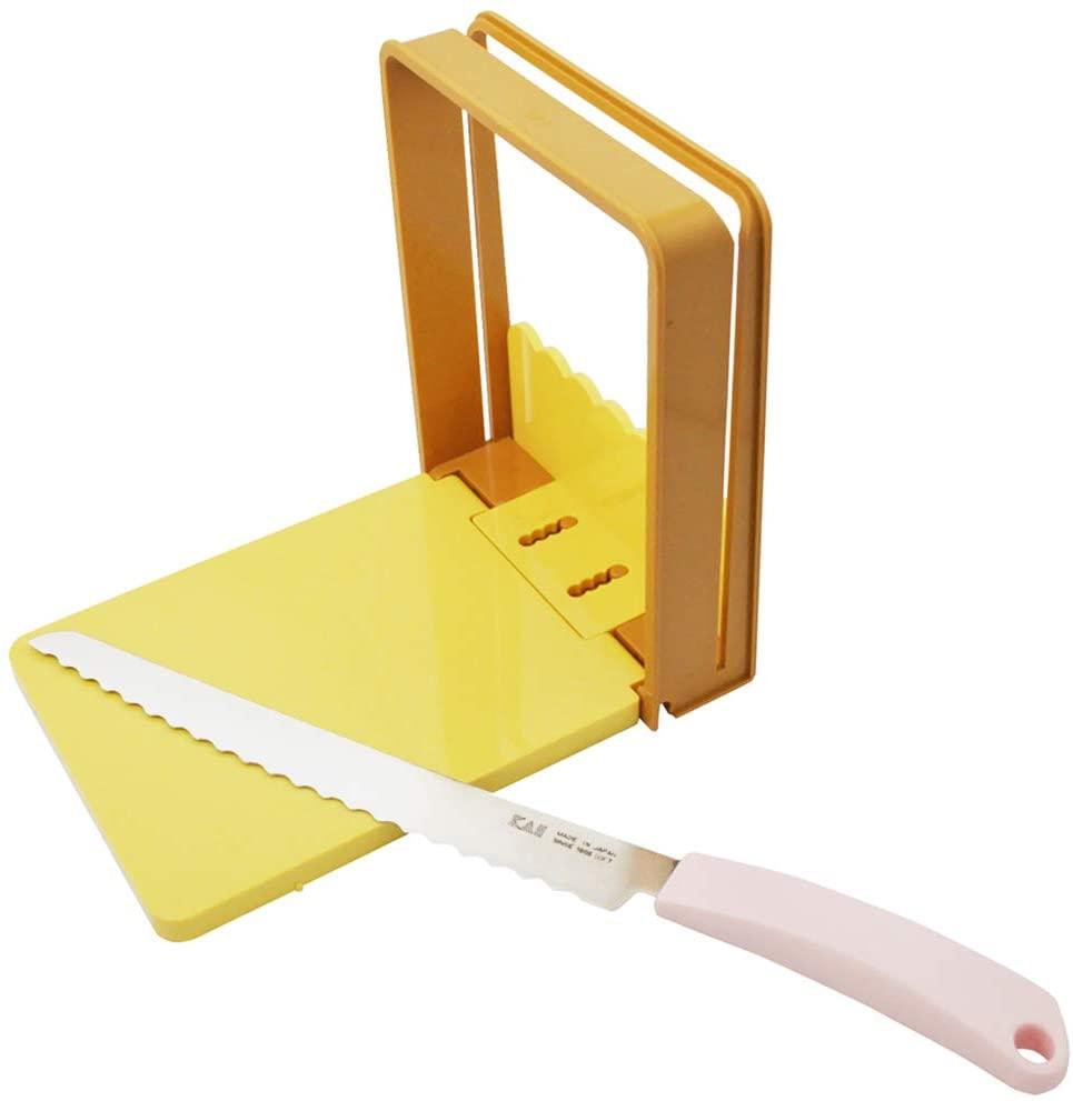 貝印(KAI) BreadySELECT パン切りナイフ&ガイドセット AC0059の商品画像