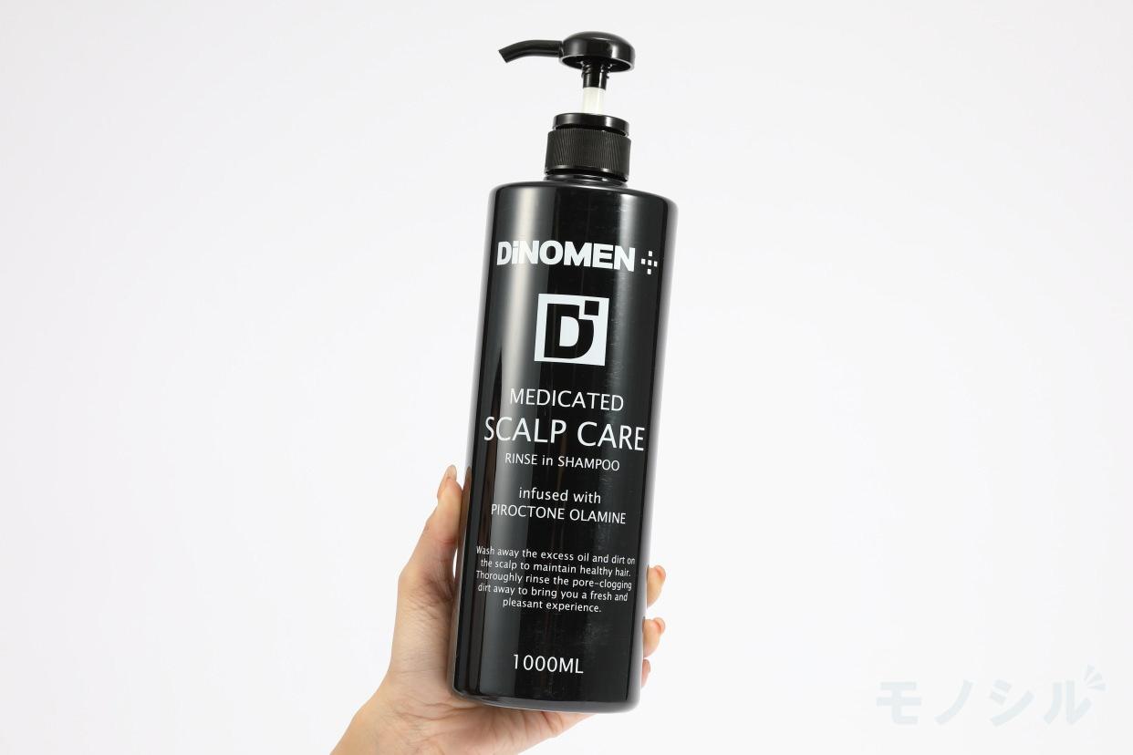 DiNOMEN(ディノメン) 薬用スカルプケア リンスインシャンプーの手持ちの商品画像
