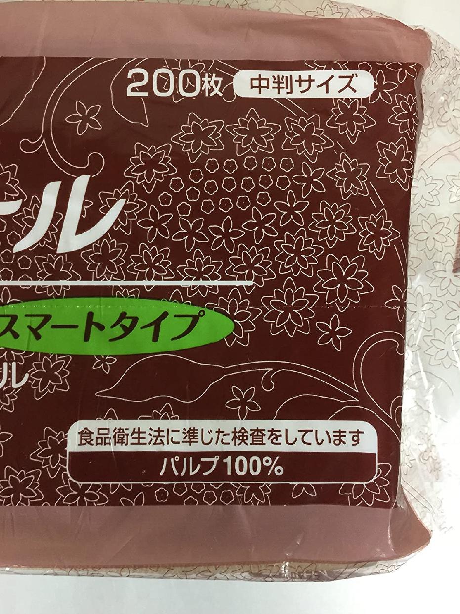 elleair(エリエール) ペーパータオル スマートタイプ 無漂白 シングル 中判 200枚×6セットの商品画像3
