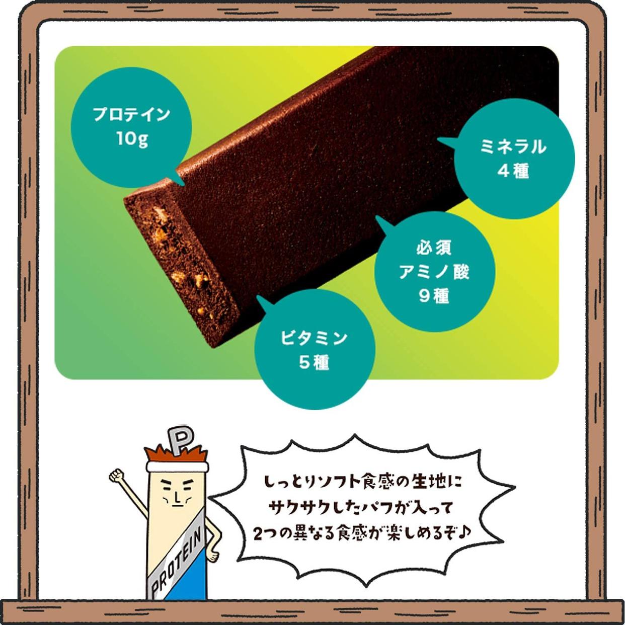 Asahi(アサヒグループショクヒン) 一本満足バー プロテイン・ランの商品画像3