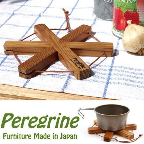 Peregrine Furniture(ペレグリン ファニチャー) Pod Stand Star 圧縮杉の鍋敷き スターの商品画像2