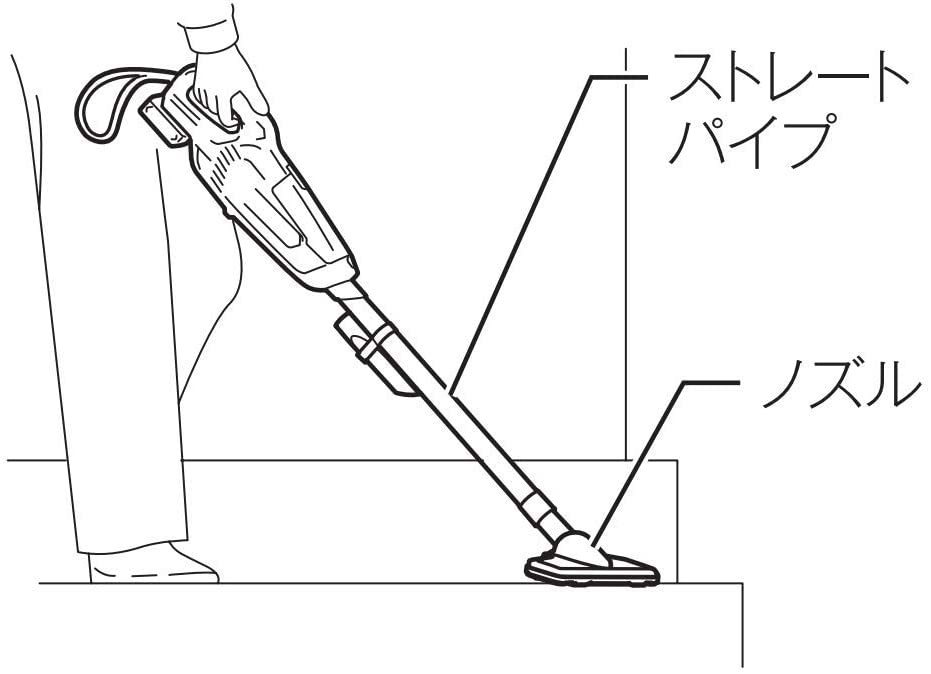 makita(マキタ) 充電式クリーナ CL107FDSHWの商品画像4