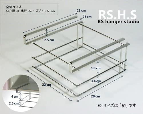 RS Hanger Studio(アールエスハンガースタジオ) 吊り戸棚用 まな板2枚スタンドの商品画像3