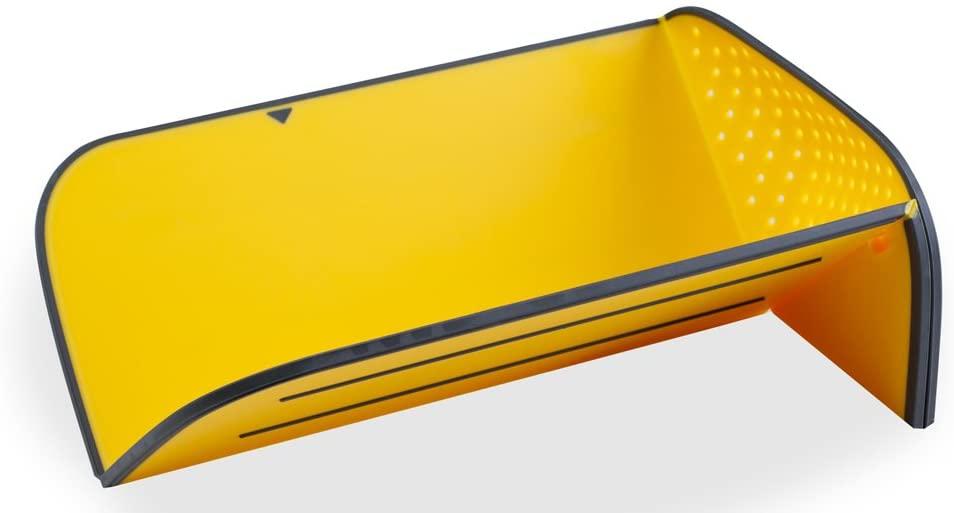 Joseph Joseph(ジョセフジョセフ) リンス&チョップ プラス 水切り まな板 イエロー 600759の商品画像2