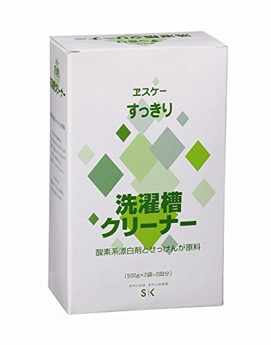 ヱスケー石鹸(ヱスケーセッケン)洗濯槽クリーナー (高発泡タイプ)の商品画像1