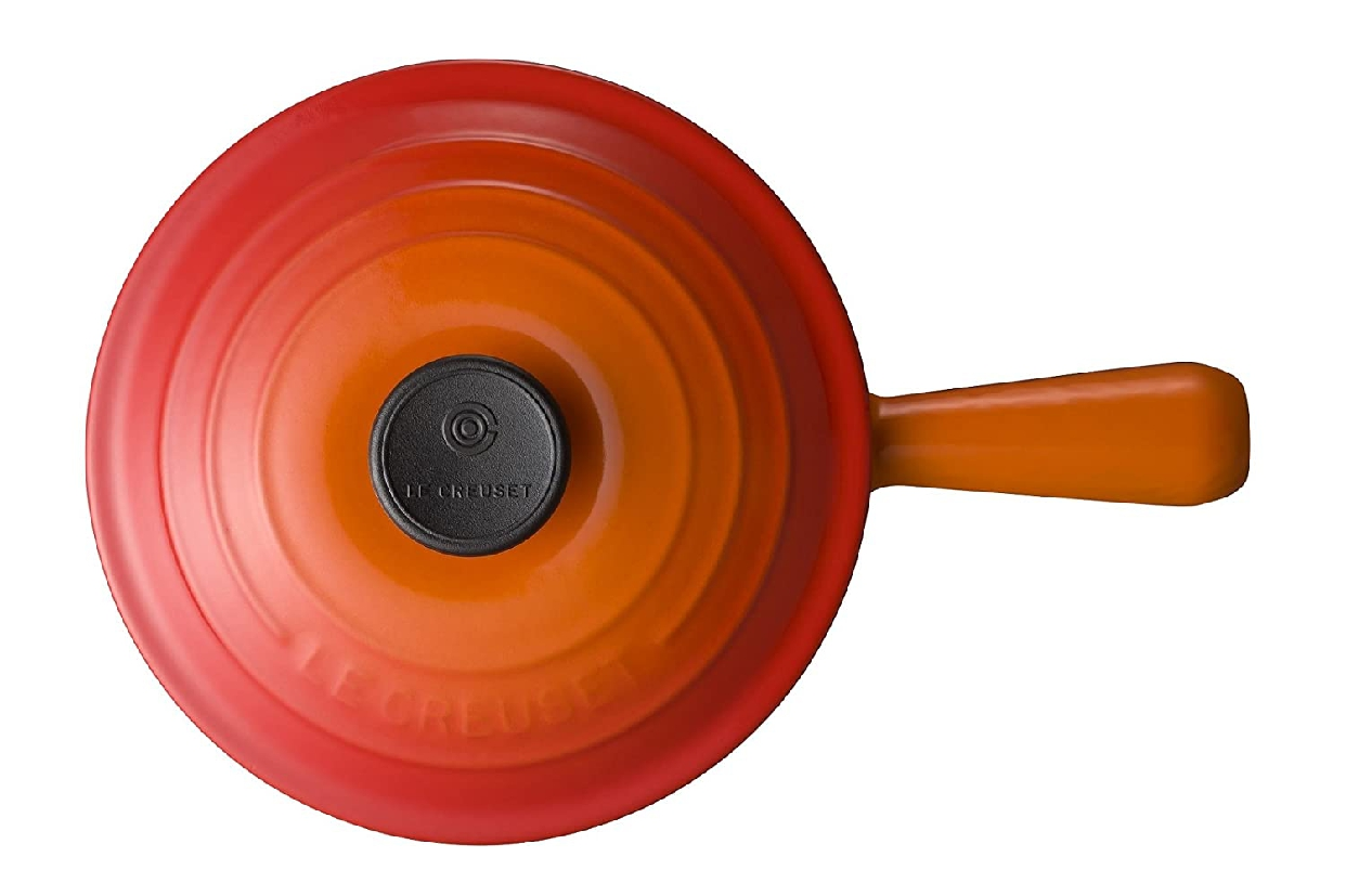 LE CREUSET(ル・クルーゼ) ソースパン 18cm オレンジ 2507の商品画像2