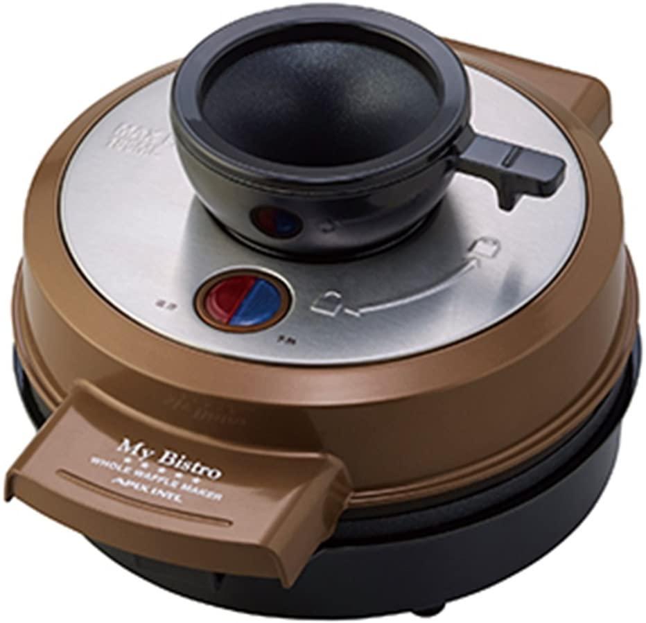My Bistro(マイビストロ) ホールワッフルメーカー ブラウン AWM-297 BRの商品画像