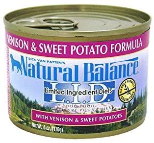 Natural Balance(ナチュラルバランス) ベニソン&スウィートポテト ドッグ缶 (全年齢対応) 170gの商品画像