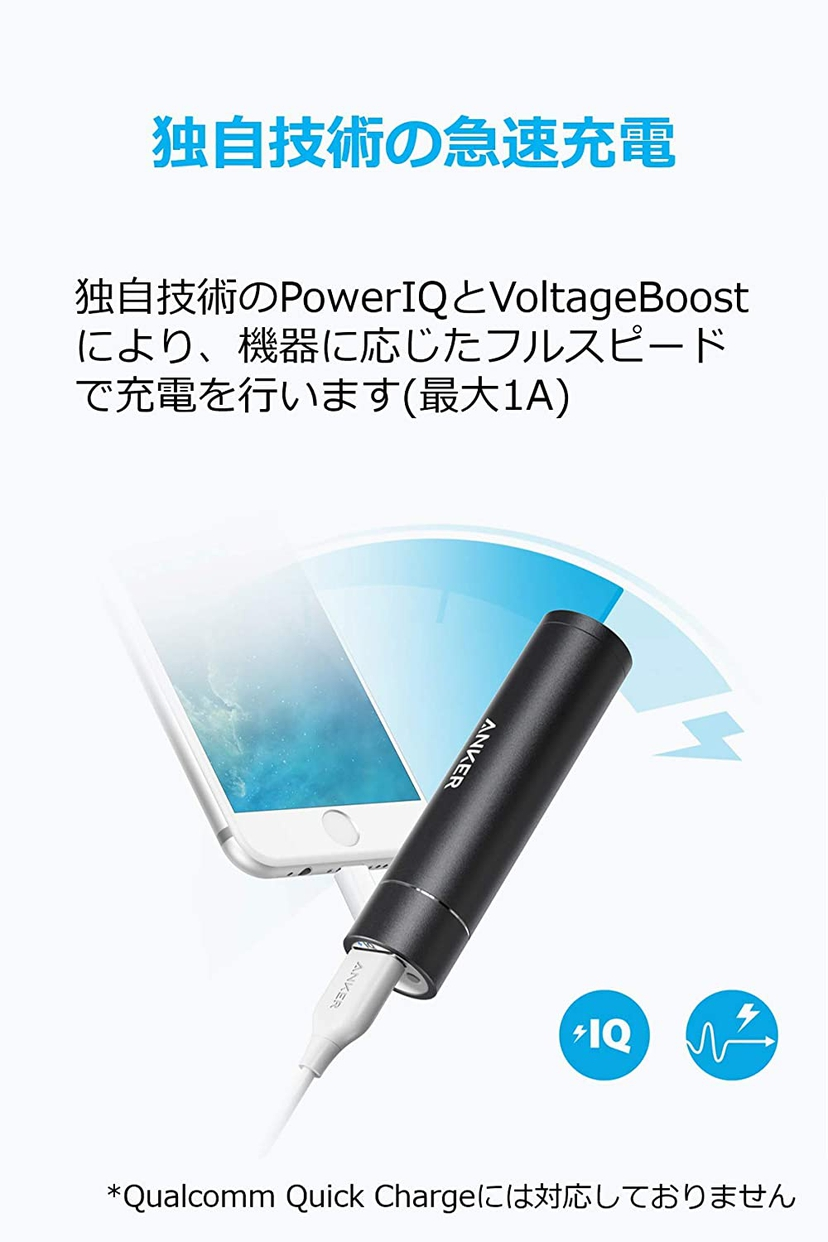 Anker(アンカー) PowerCore+ mini A1104011の商品画像4