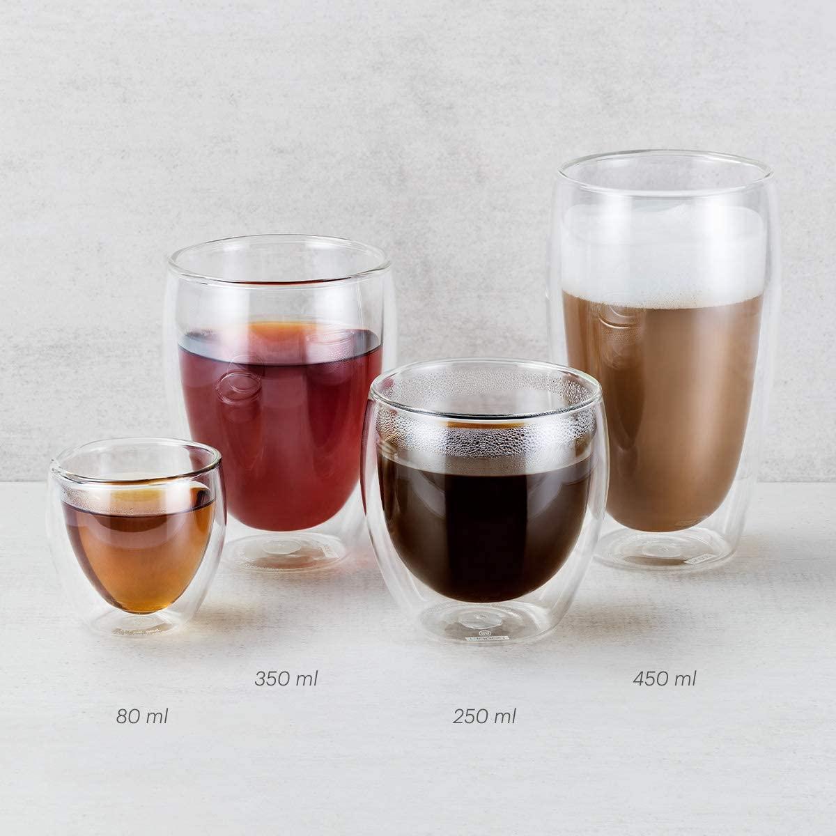 PAVINA(パヴィーナ) ダブルウォール グラス 80ml 2個セット 4557-10の商品画像3