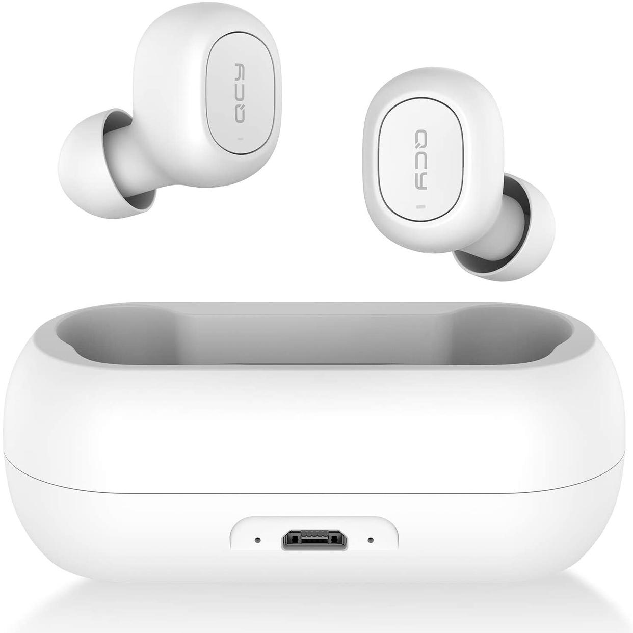 QCY(キューシーワイ) Bluetooth 5.0 完全ワイヤレスイヤホン T1の商品画像