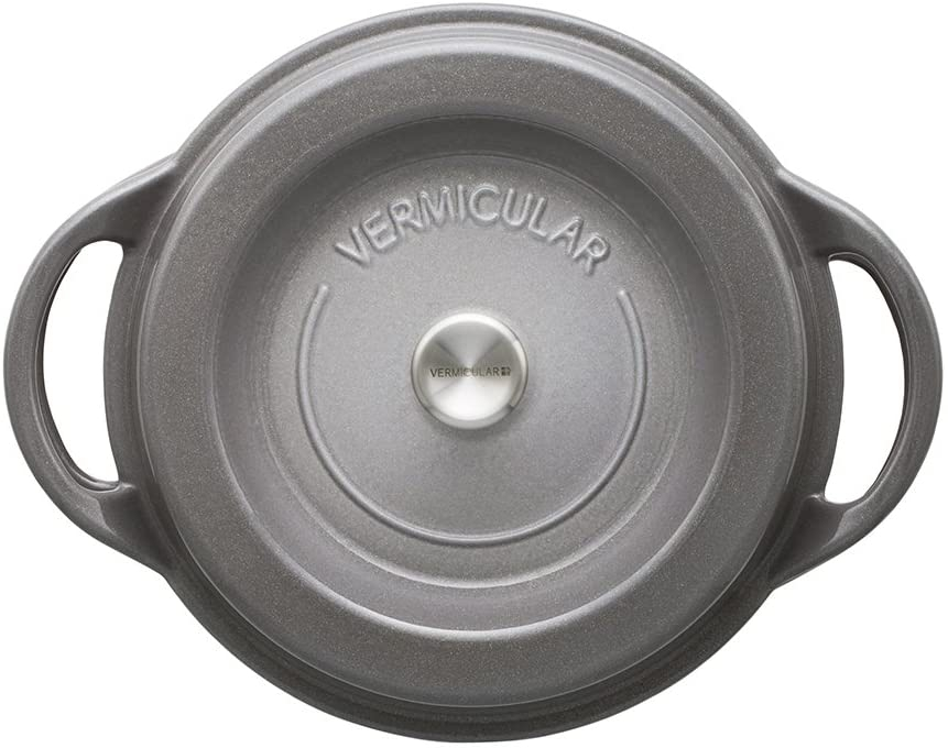 VERMICULAR(バーミキュラ) オーブンポットラウンド22cm パールグレーの商品画像2