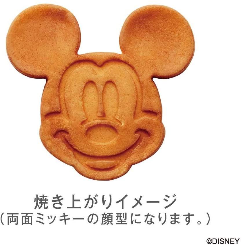 DOSHISHA(ドウシシャ)ワッフルメーカー ミッキーマウス シルバー WAFU-100SIの商品画像5