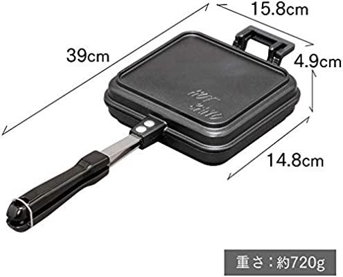 IRIS OHYAMA(アイリスオーヤマ) 具だくさんホットサンドメーカー シングル GHS-Sの商品画像7