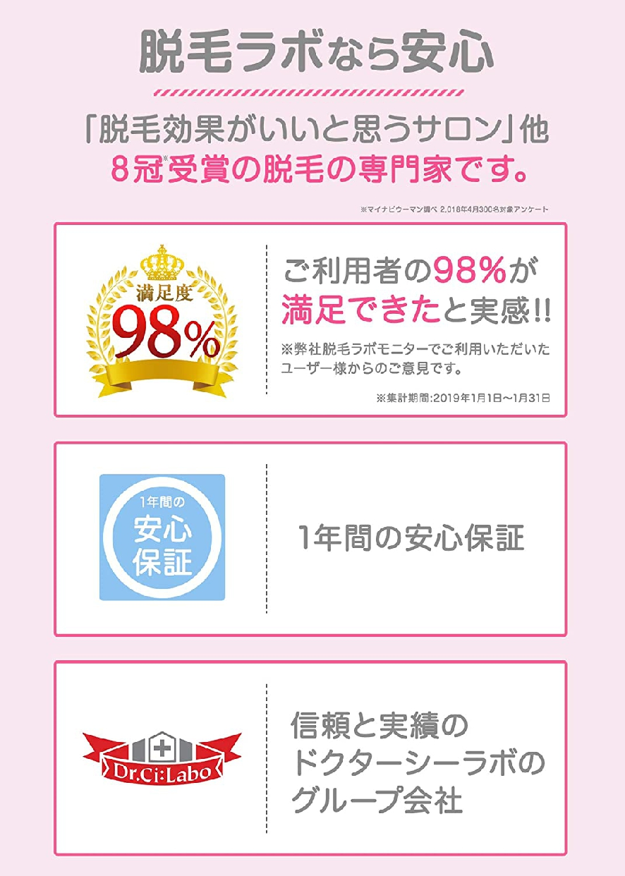 脱毛ラボ(Datsumo Labo) ホームエディションの商品画像7