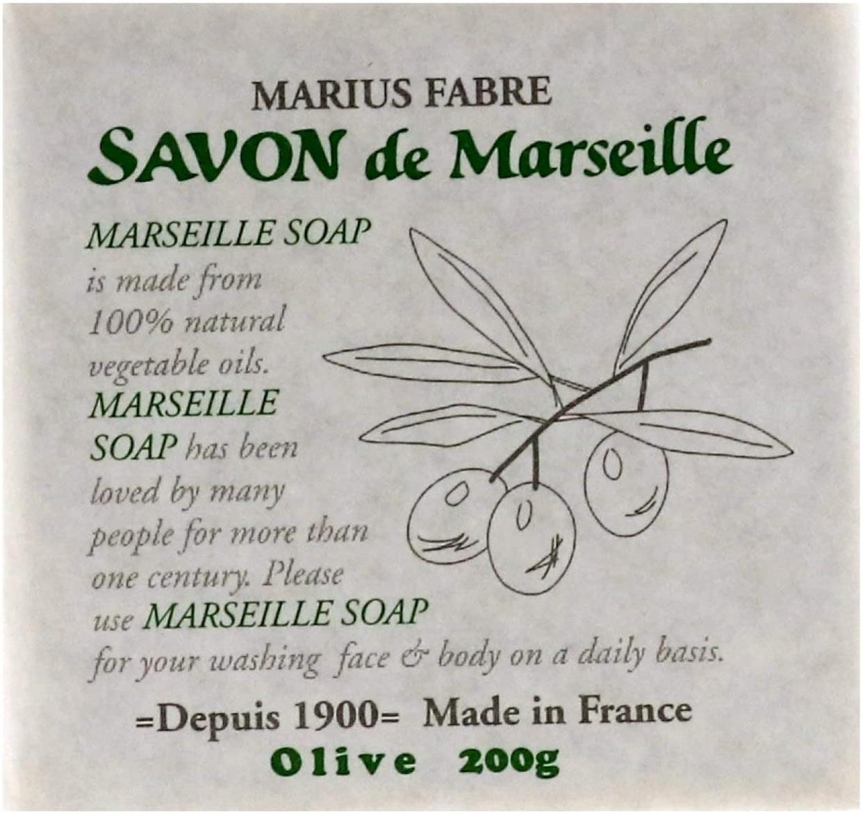 MARIUS FABRE(マリウス ファーブル) サボン ド マルセイユ オリーブの商品画像