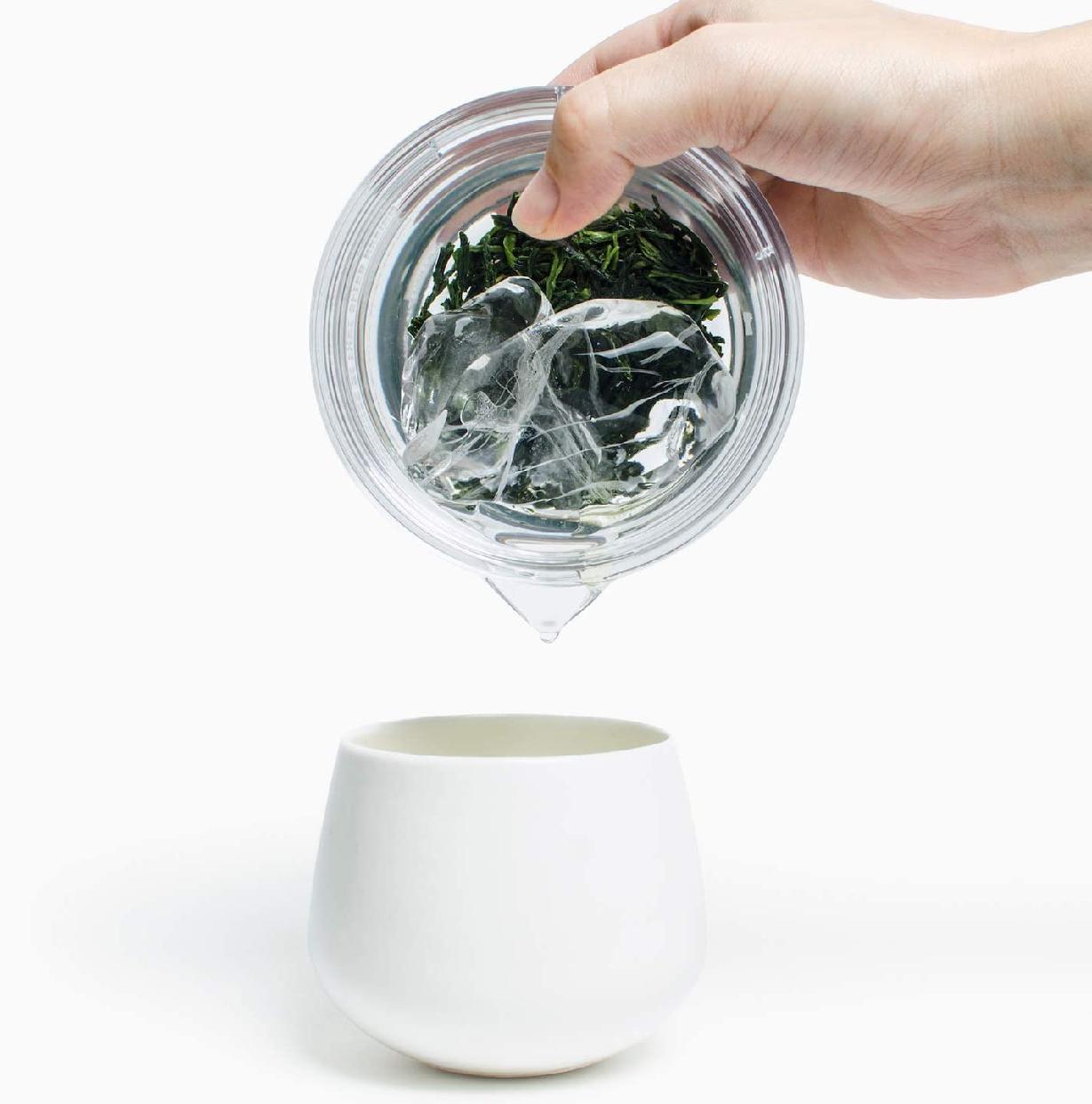煎茶堂東京 割れない 透明急須 クリアの商品画像8