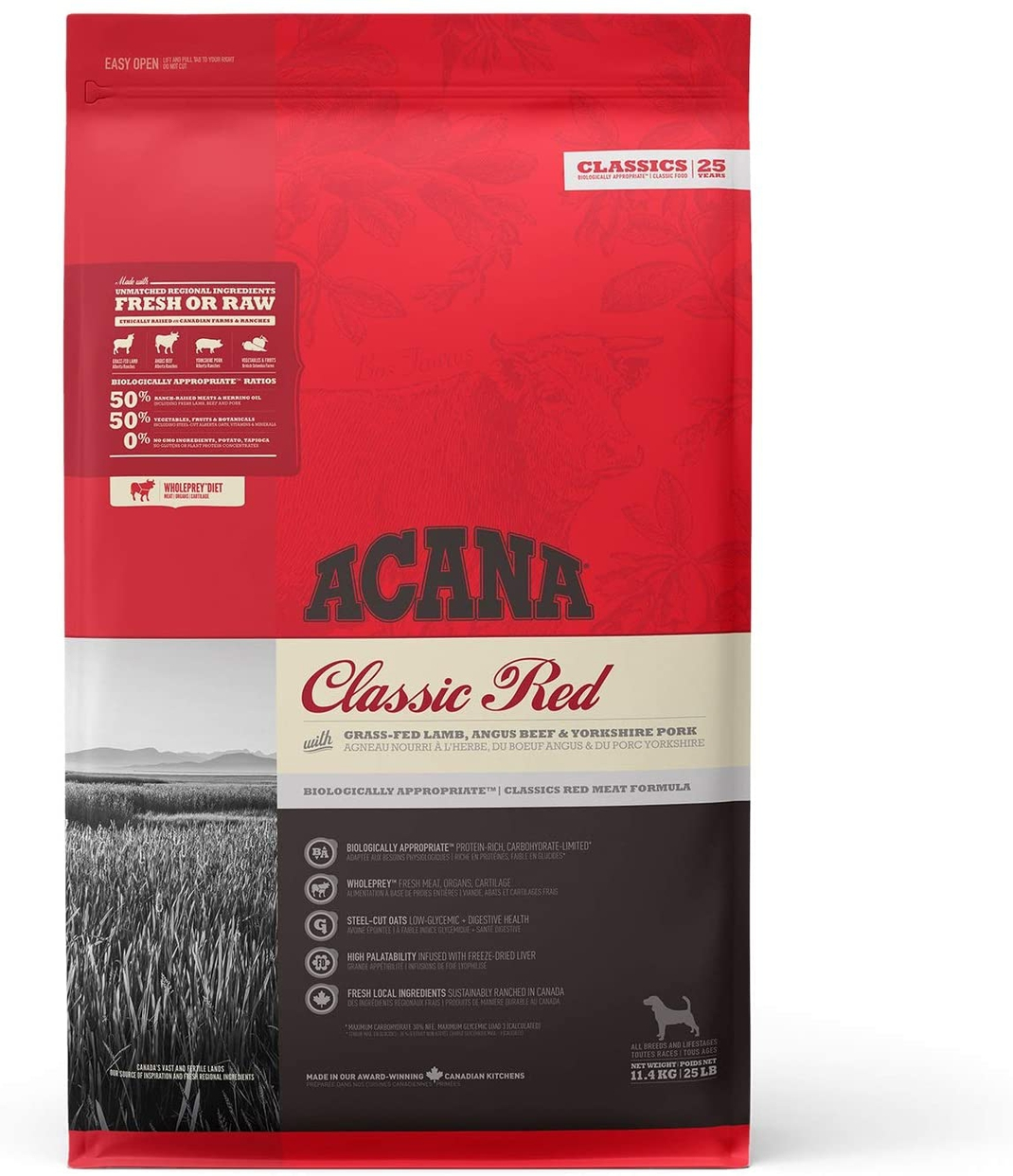 ACANA(アカナ) クラシックレッドの商品画像