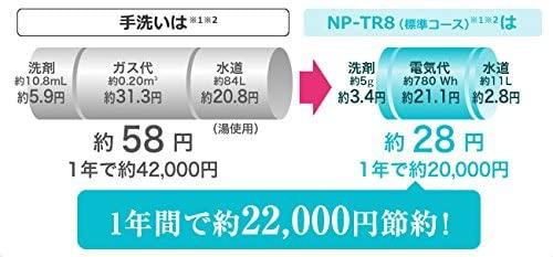 Panasonic(パナソニック) 食器洗い乾燥機 NP-TR8-W(ホワイト)の商品画像3