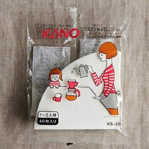 KONO(コーノ) 名門2人用ドリッパーセット MDN-20の商品画像2