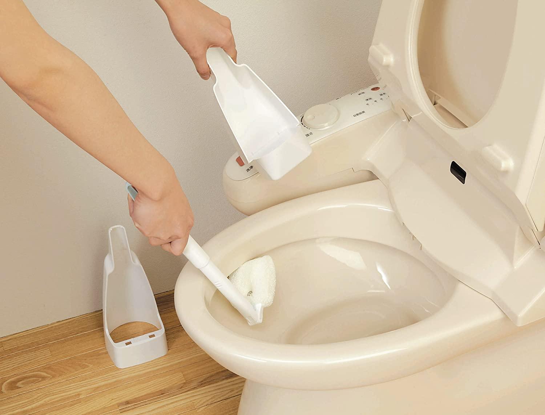 aiwa(アイワ) トイレそうじおまかせスポンジケース付の商品画像6