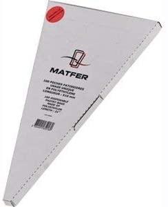 MATFER(マトファー) ペストリーバッグ 100枚入 WPS1101 クリアの商品画像