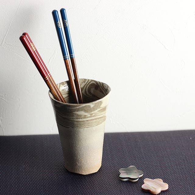 Maturite(マチュリテ) 梅結び 夫婦箸&箸置きセット 赤・青 0059UMB001の商品画像7