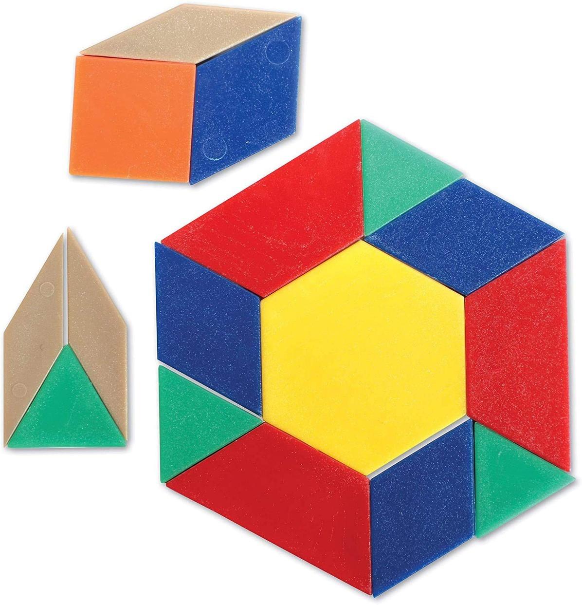 Learning Resources(ラーニングリソーシズ) パターンブロック ミニセットの商品画像8
