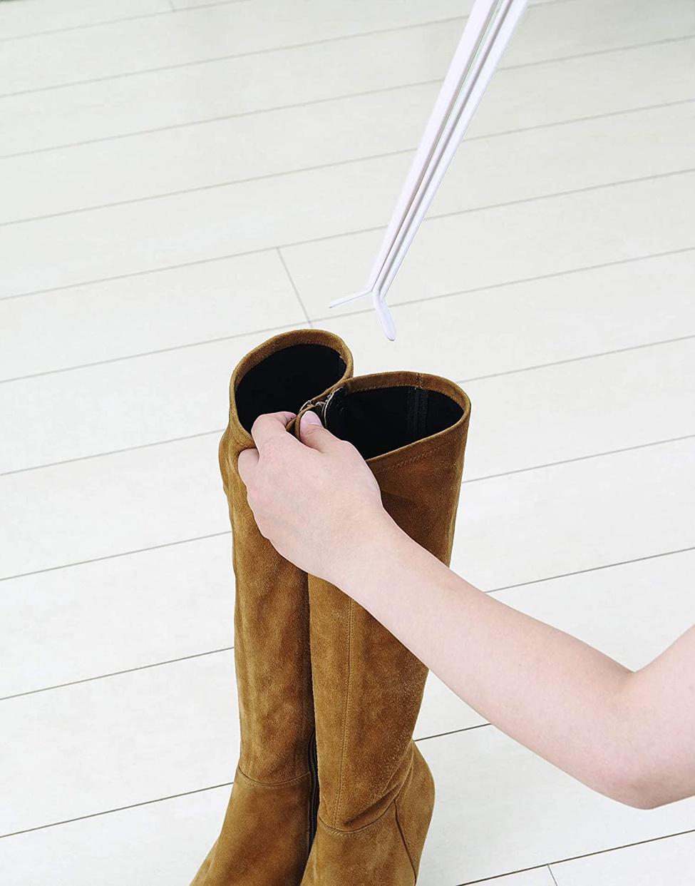 Like it(ライクイット) 靴収納ブーツキーパークリップの商品画像7