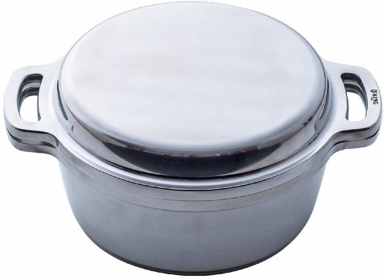 ハルムスイKING無水鍋®24 600034 シルバーの商品画像