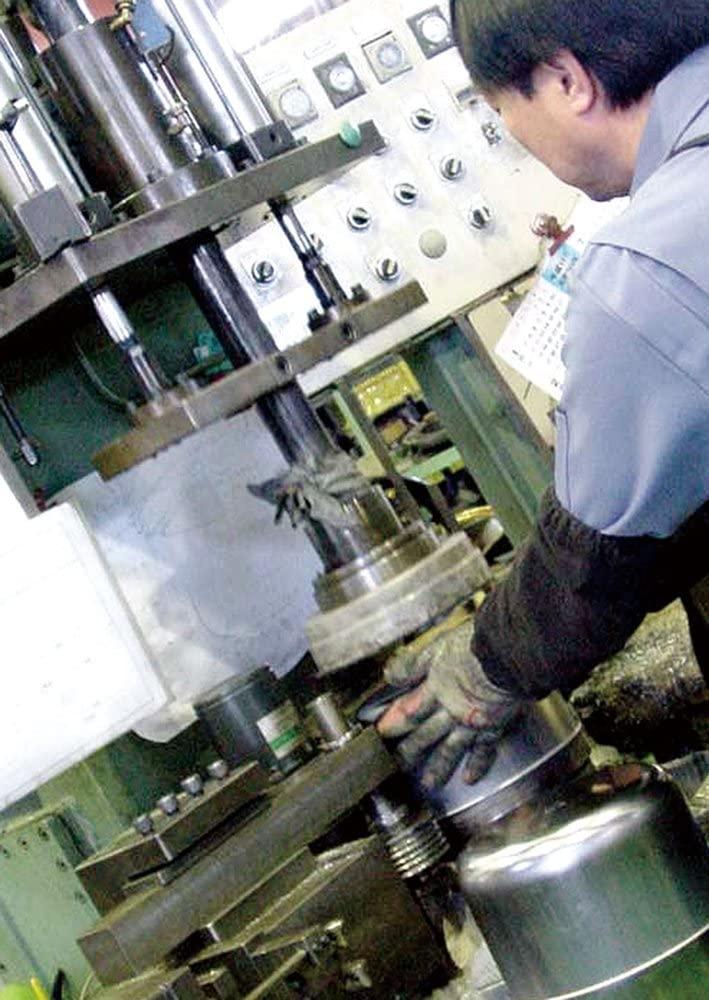燕人の匠(エンジンノタクミ)パスタ鍋 桜吟 20cm シルバー ETS-500の商品画像5