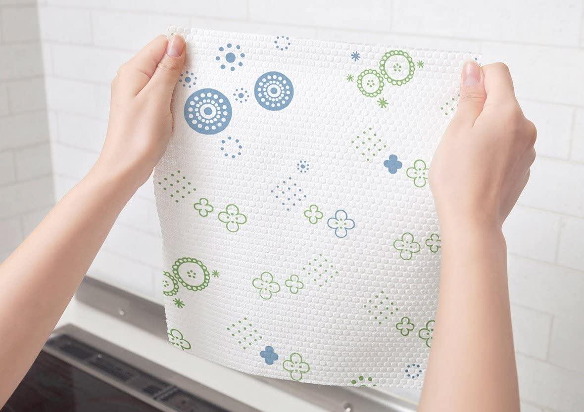 SCOTTIE fine(スコッティファイン) 洗って使えるペーパータオル プリント 52カット1ロールの商品画像4