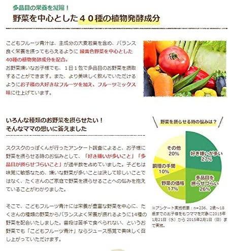 スクスクノッポクンこどもフルーツ青汁の商品画像9