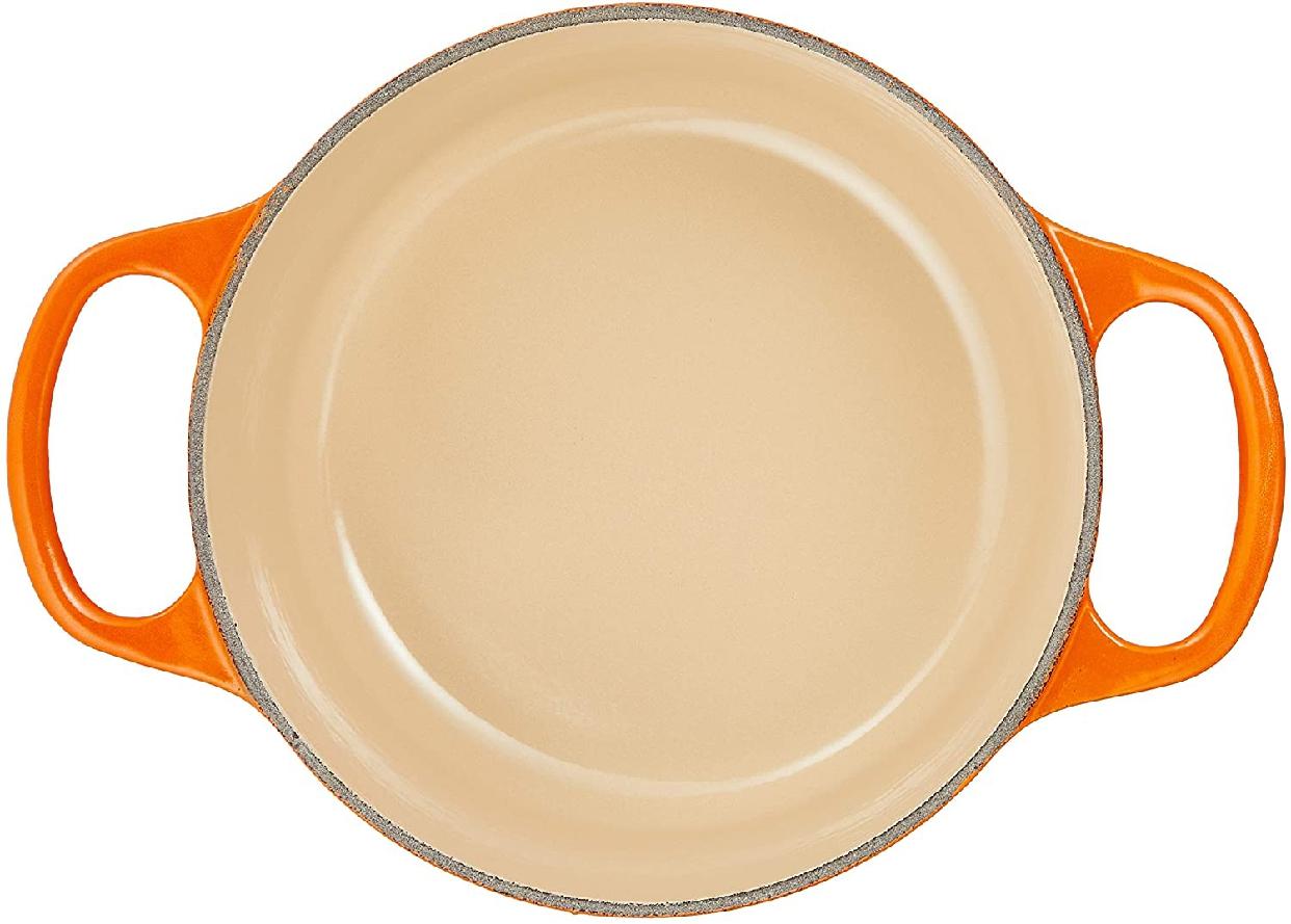 LE CREUSET(ル・クルーゼ)シグニチャー ココット・ロンド 16cm オレンジの商品画像3