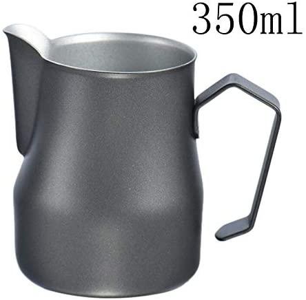 Aihogard(アイホガード)ステンレス鋼ミルク泡立てピッチャー 350ml Blackの商品画像