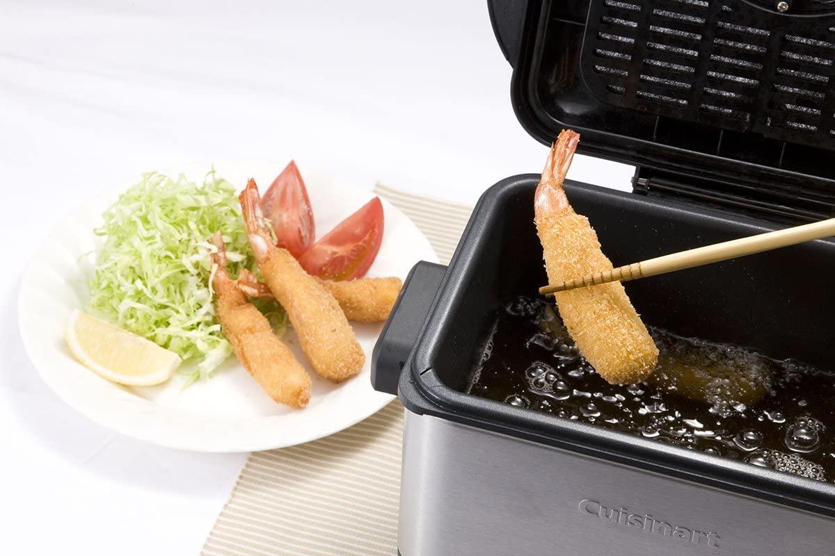 Cuisinart(クイジナート) 電気フライヤー CDF-100JBS シルバーの商品画像7