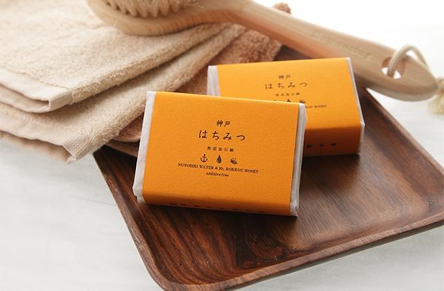 丸菱石鹸 神戸はちみつ石鹸の商品画像2