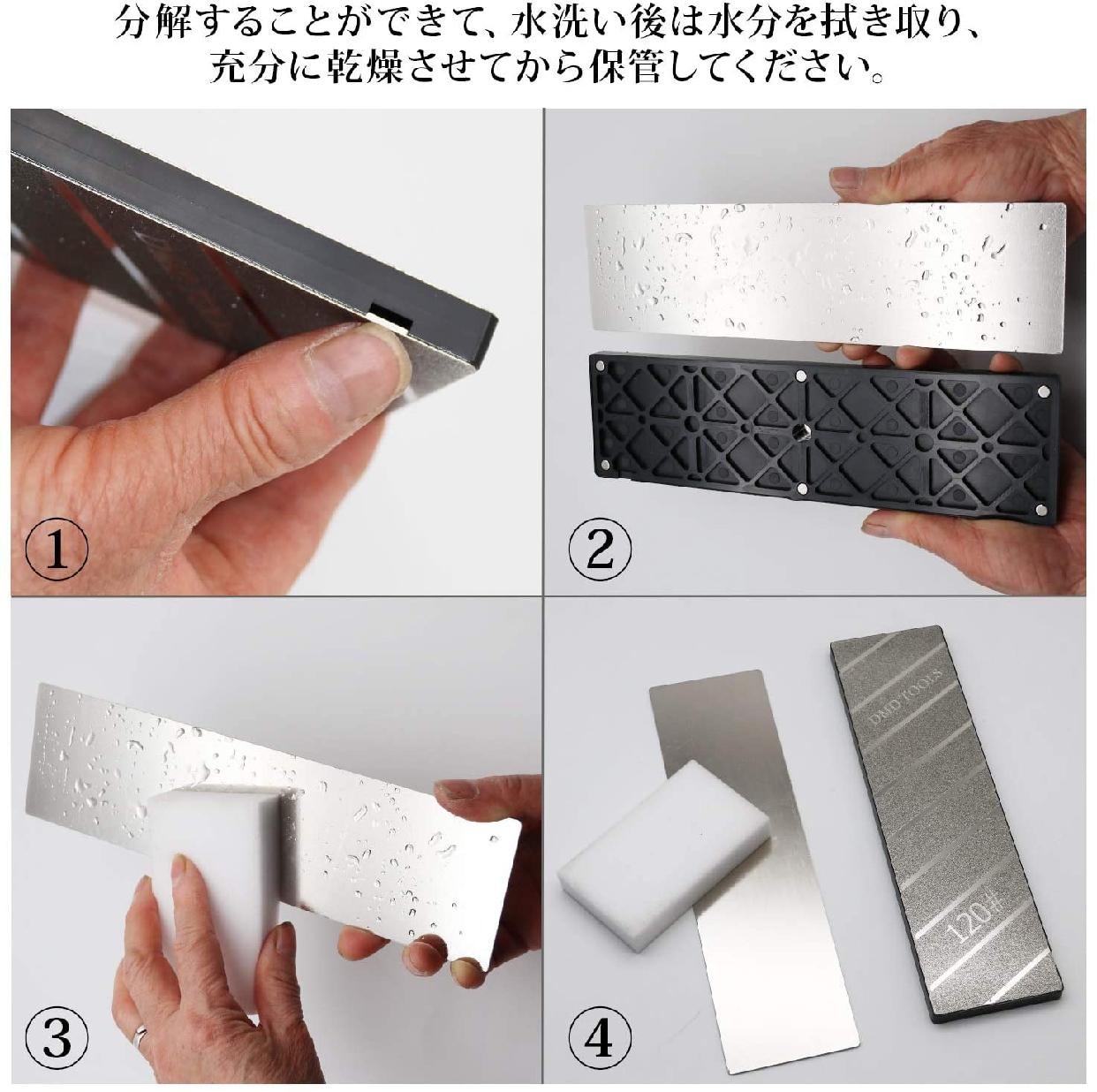 GOKEI 面直し用砥石 両面2役タイプ #180/#120 258×75×13mmの商品画像7