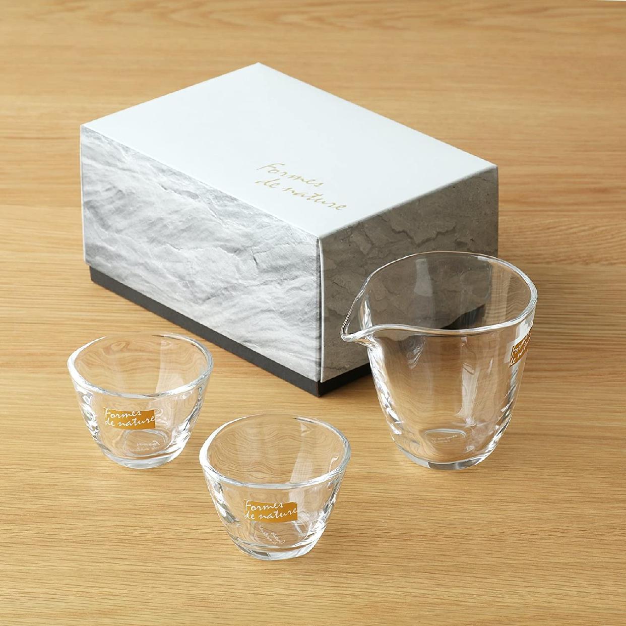 ADERIA(アデリア)Formes de nature 片口冷酒器 S-6202の商品画像3