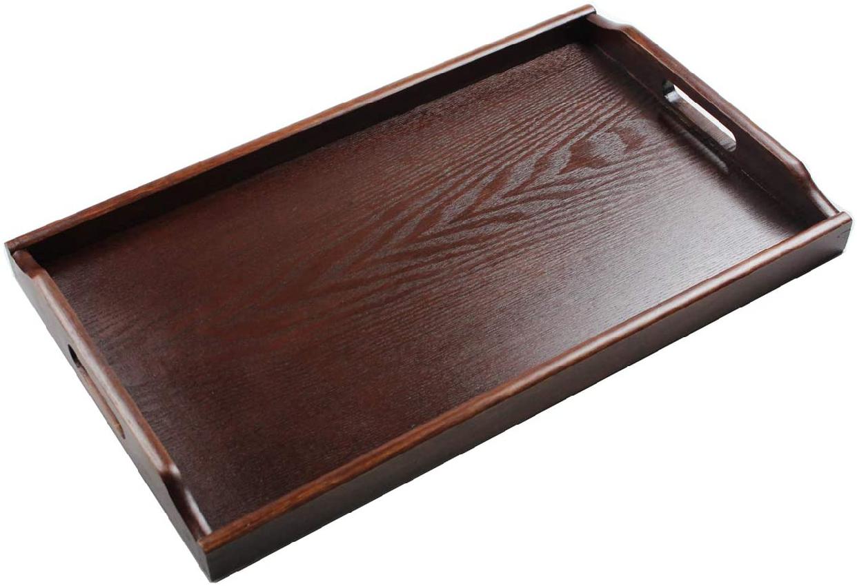祭りのええもん(まつりのええもん)木製 富士型長手盆 51cmの商品画像