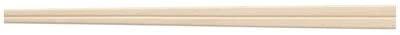 KOINS(コインズ)白樺元禄箸(8寸) 裸 100膳 20.5cm 1000067の商品画像2
