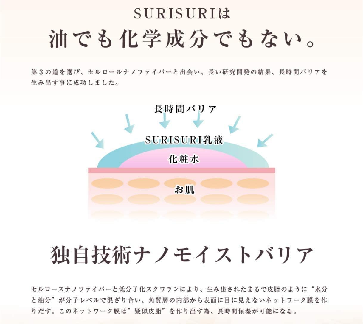 SURISURI(スリスリ) エマルジョン (乳液)の商品画像11