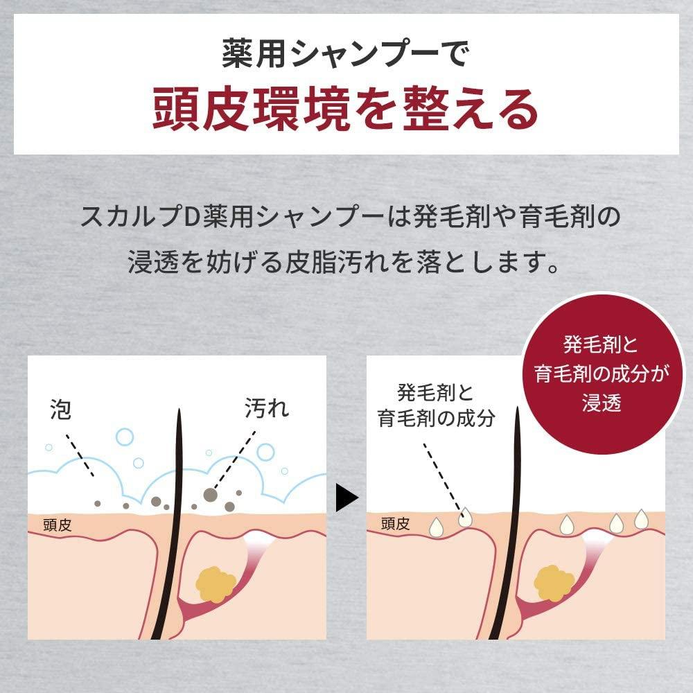 SCALP D(スカルプD) 薬用スカルプシャンプー オイリー 脂性肌用の商品画像9